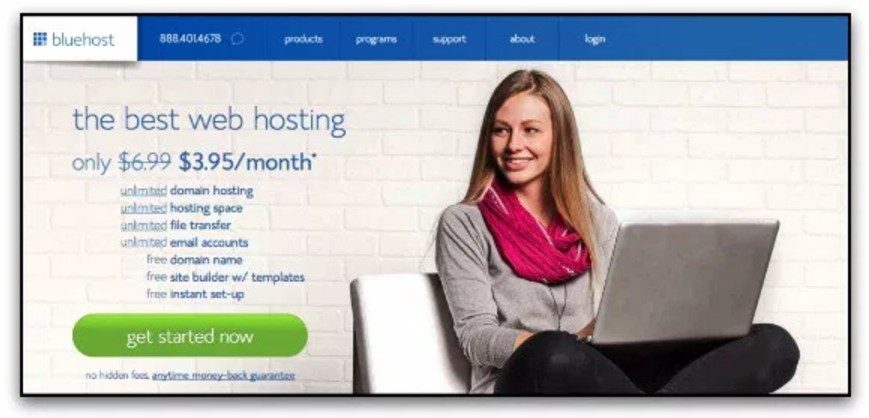 hebergement bluehost